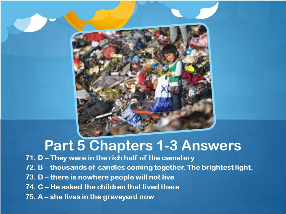 Part 5 Chapters 1-3 Answers