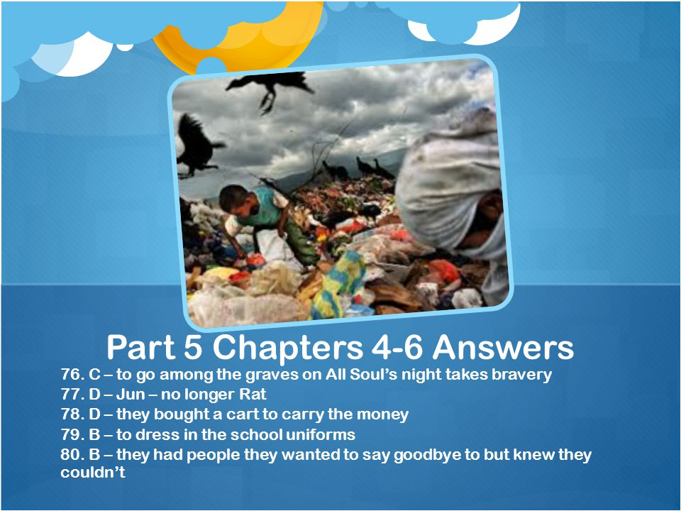 Part 5 Chapters 4-6 Answers