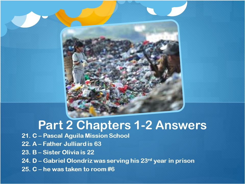 Part 2 Chapters 1-2 Answers