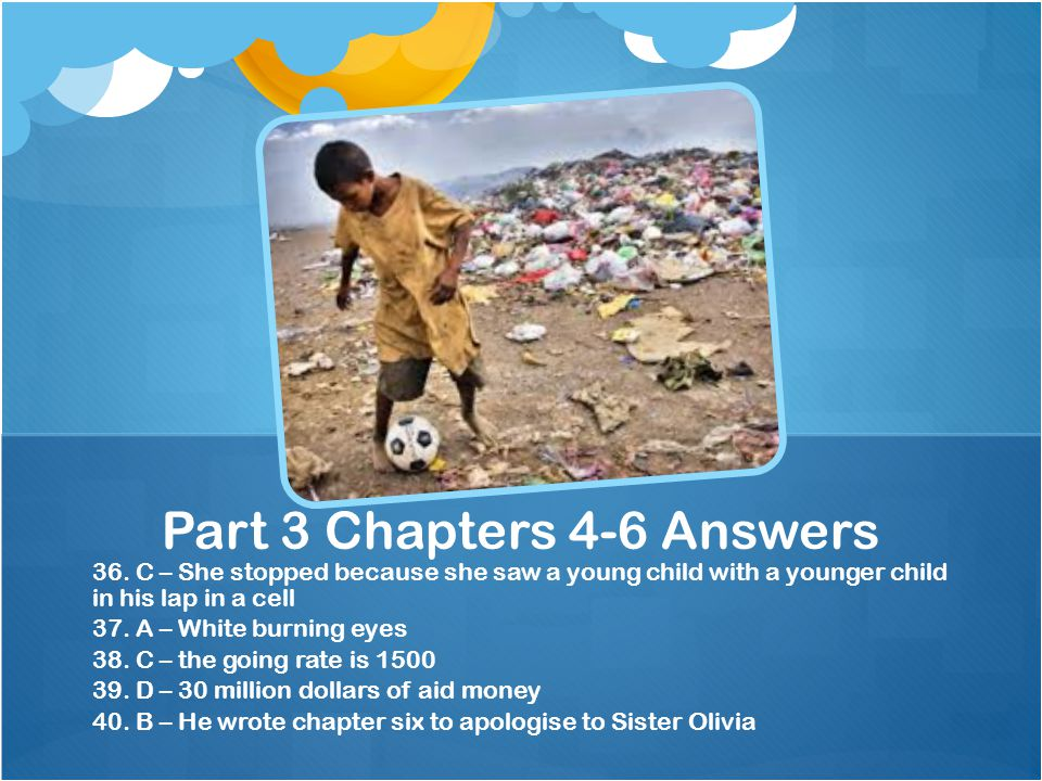 Part 3 Chapters 4-6 Answers