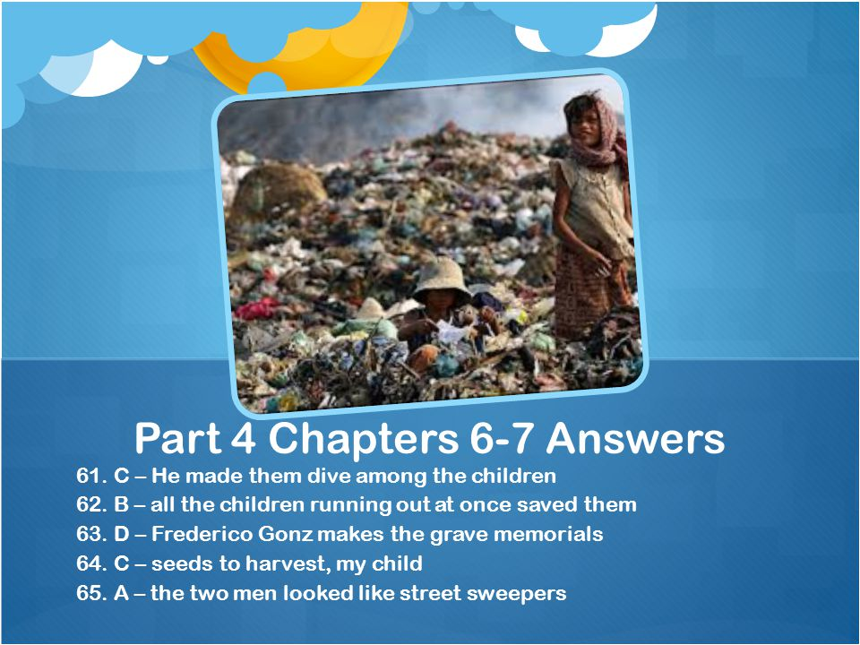 Part 4 Chapters 6-7 Answers