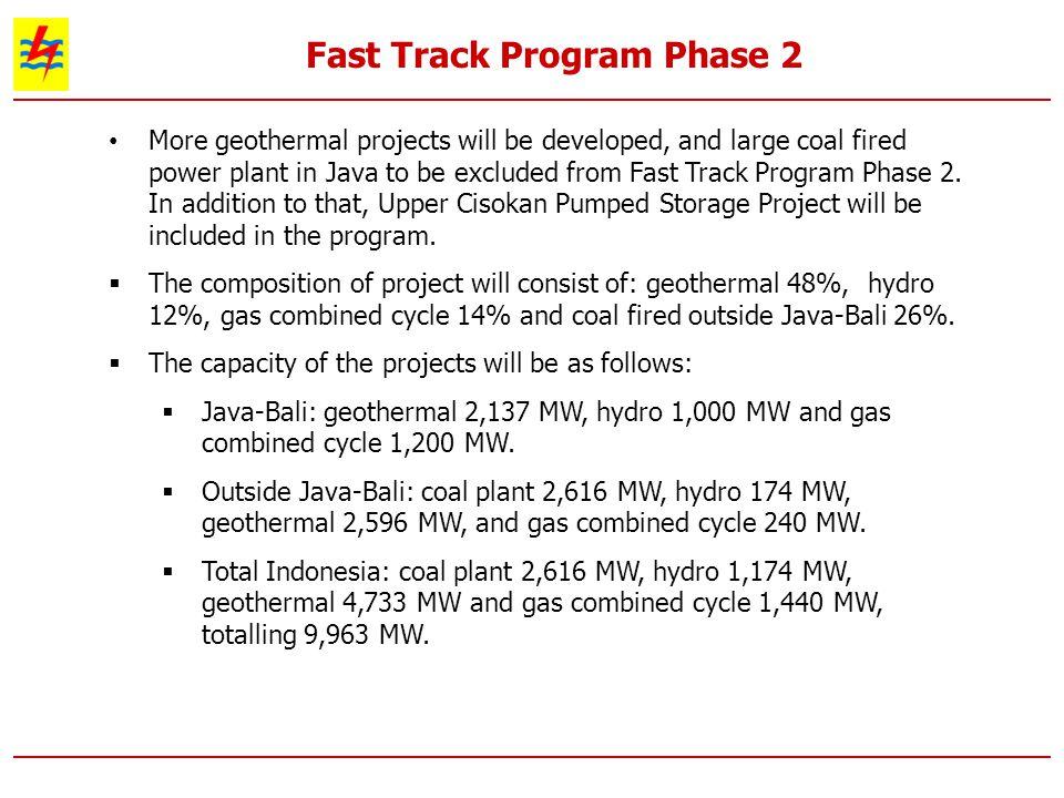 Fast Track Program Phase 2
