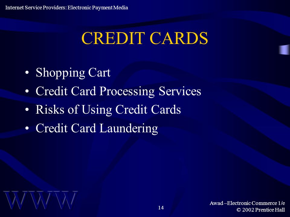 CREDIT CARDS Shopping Cart Credit Card Processing Services