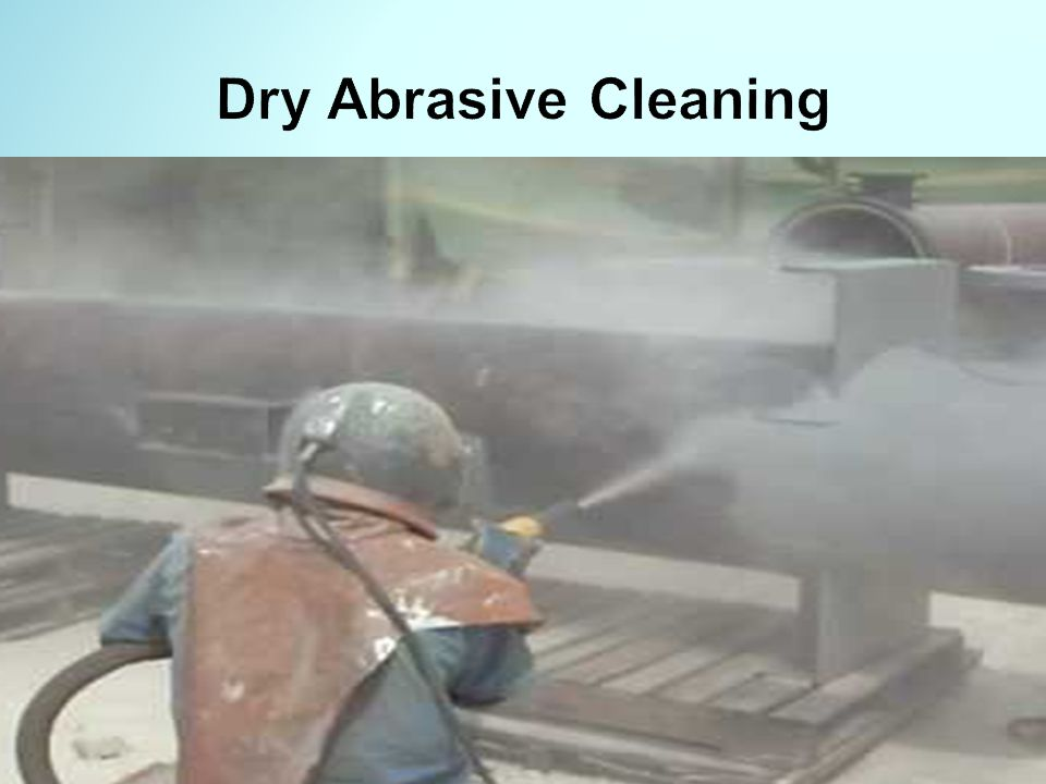 Dry Abrasive Cleaning