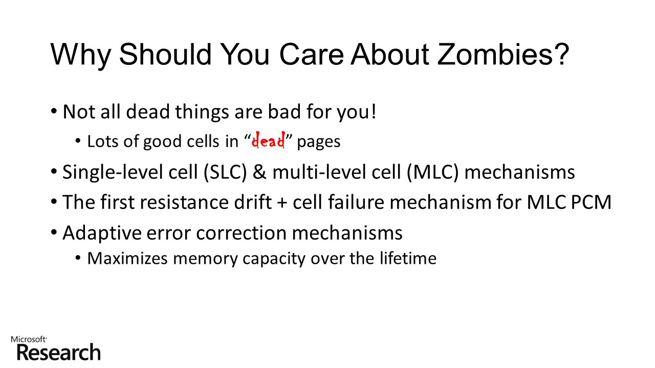 Why Should You Care About Zombies