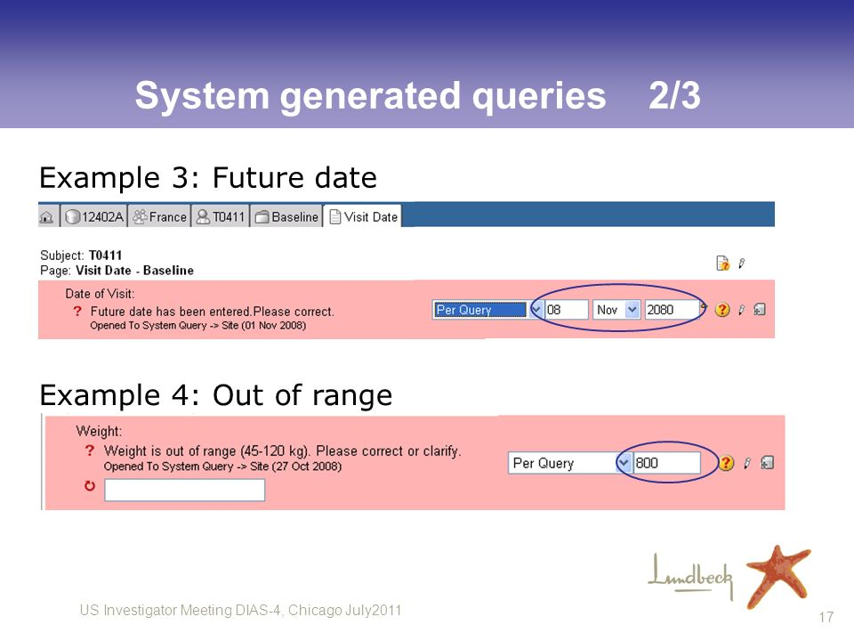 System generated queries 2/3