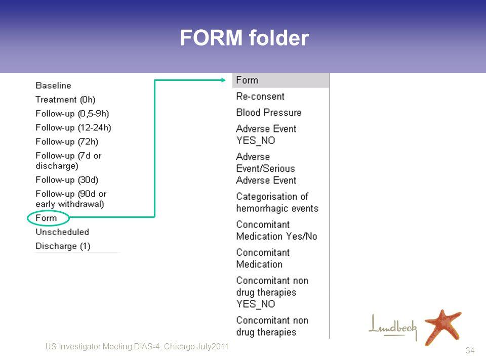 FORM folder