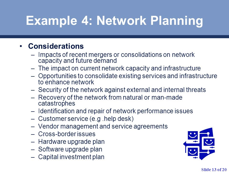 Example 4: Network Planning