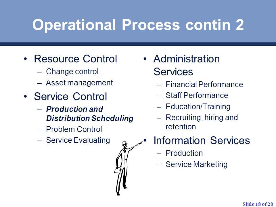Operational Process contin 2