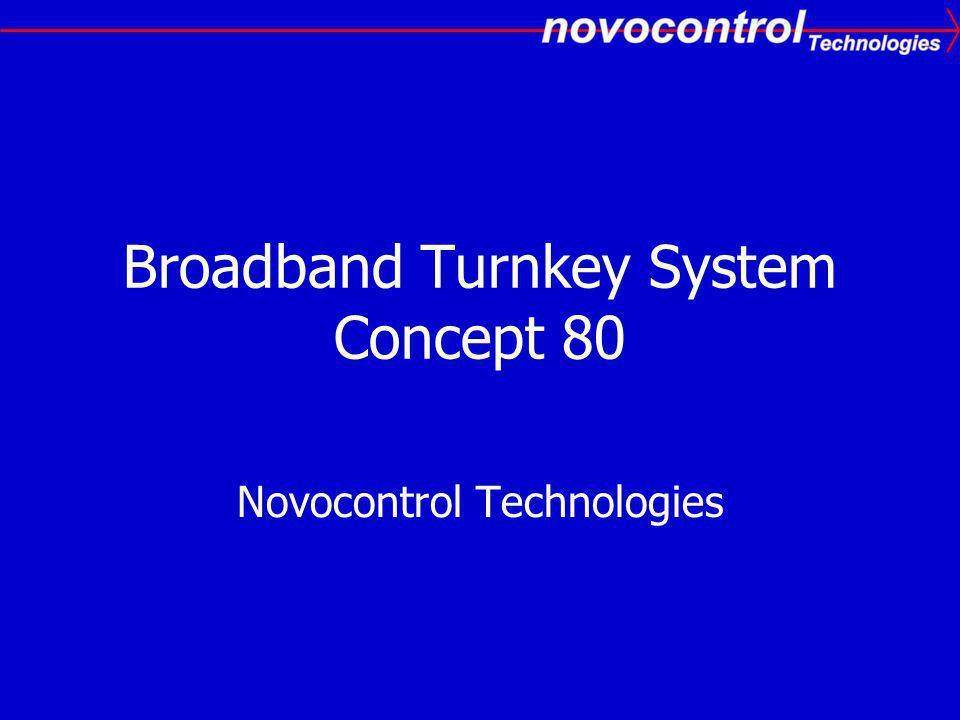 Broadband Turnkey System Concept 80