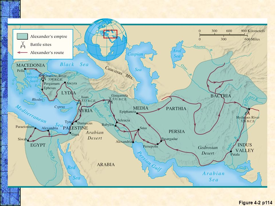 MAP 4. 2 The Conquests of Alexander the Great