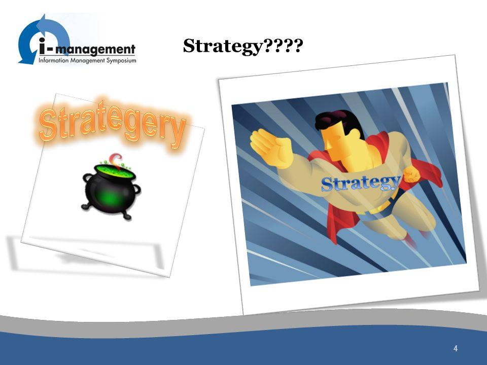 Strategery Strategy Strategy
