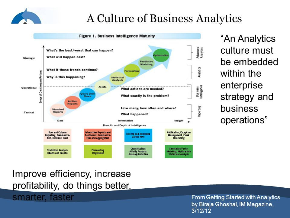 A Culture of Business Analytics