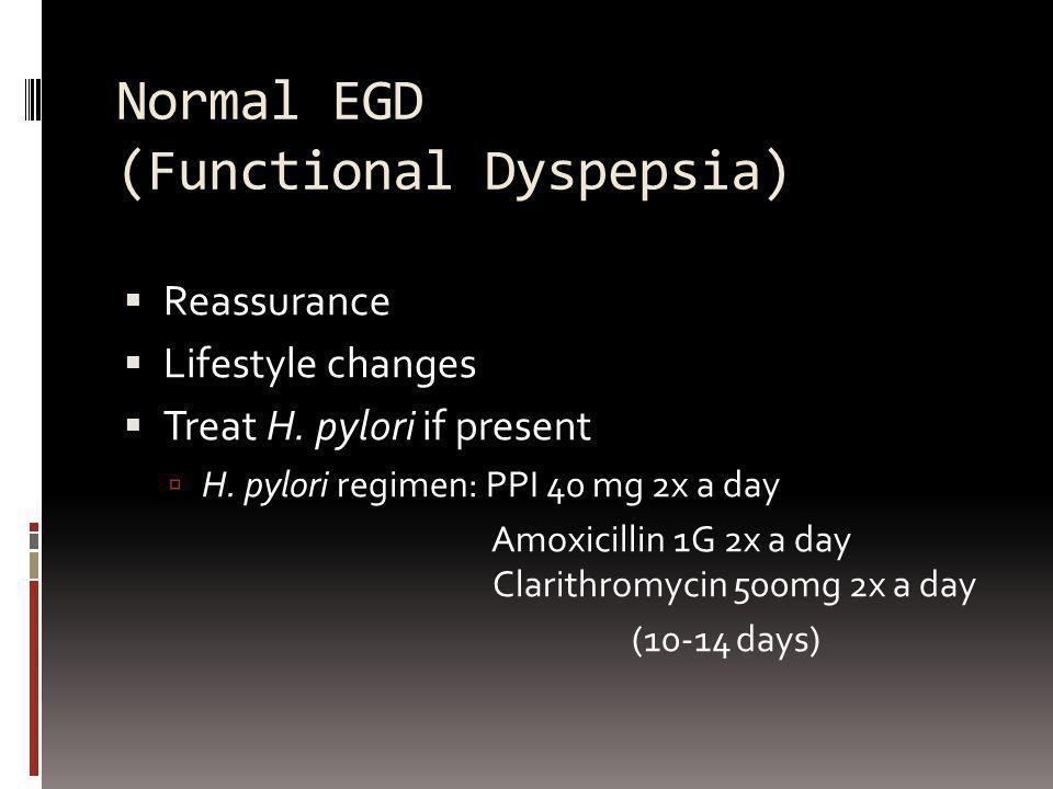 Normal EGD (Functional Dyspepsia)