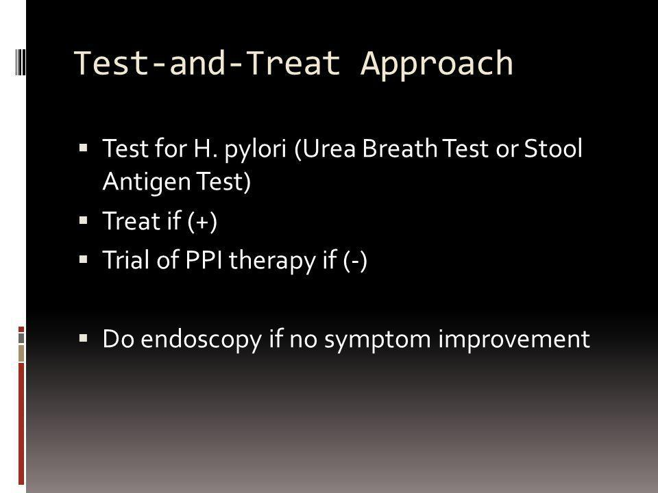 Test-and-Treat Approach
