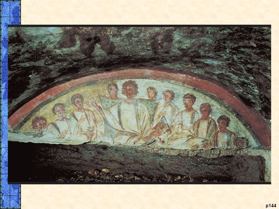 Jesus and His Apostles. Pictured is a fourth-century C. E