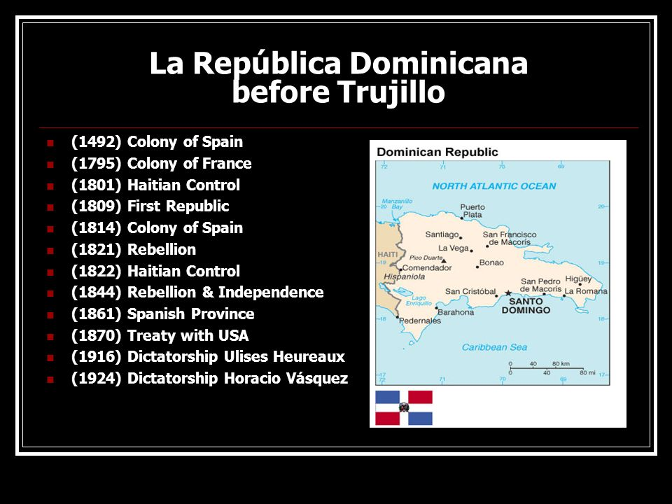 La República Dominicana before Trujillo