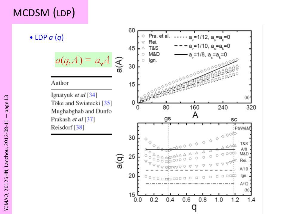 MCDSM (LDP) LDP a (q) YCMAO, 2012SHN, Lanzhou, 2012-08-11 — page 13
