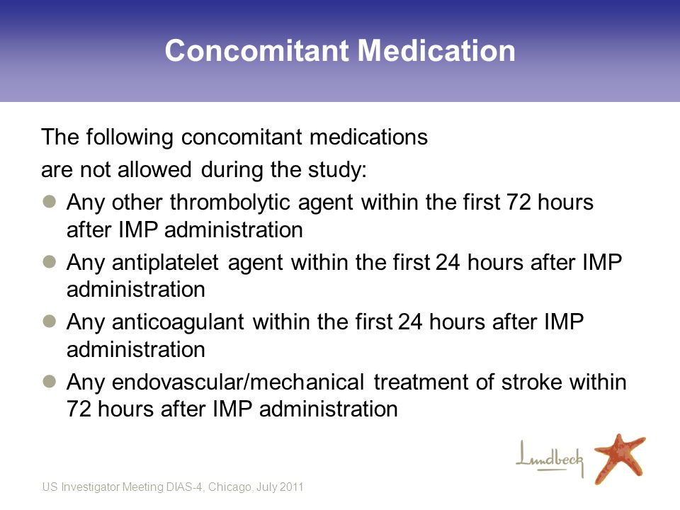 Concomitant Medication
