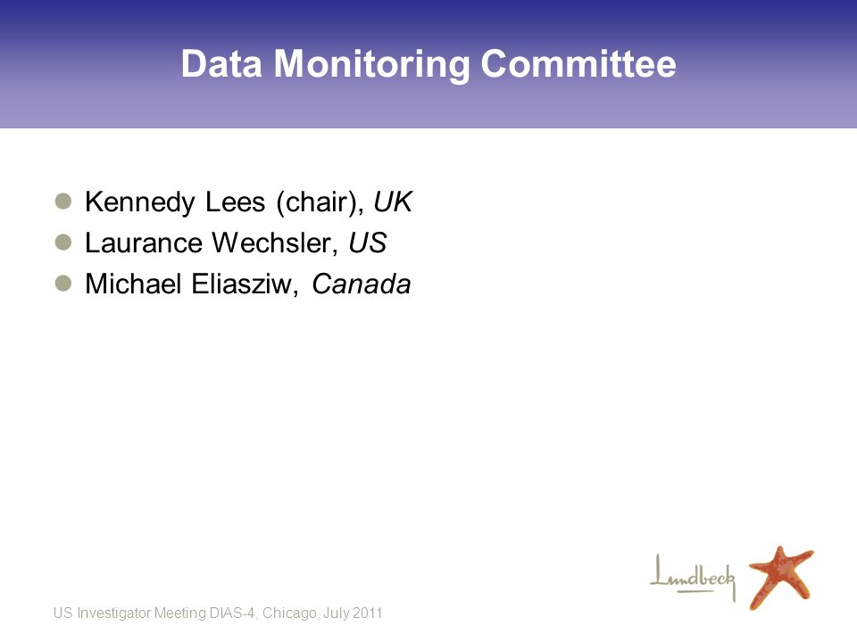 Data Monitoring Committee