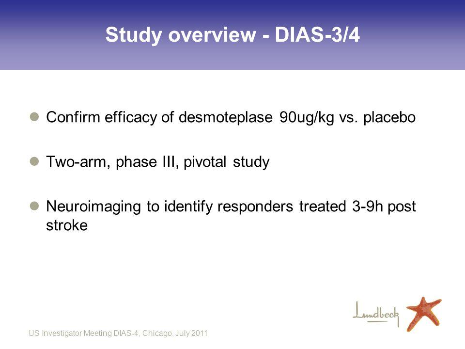 Study overview - DIAS-3/4