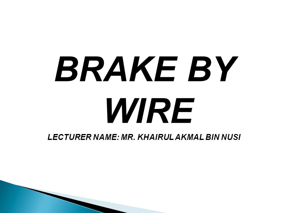 LECTURER NAME: MR. KHAIRUL AKMAL BIN NUSI