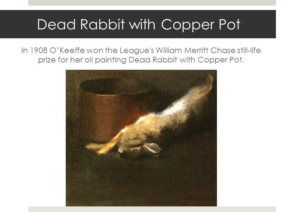 Dead Rabbit with Copper Pot