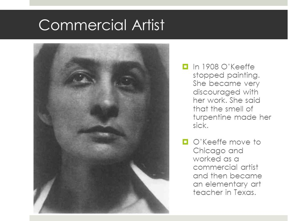 Commercial Artist