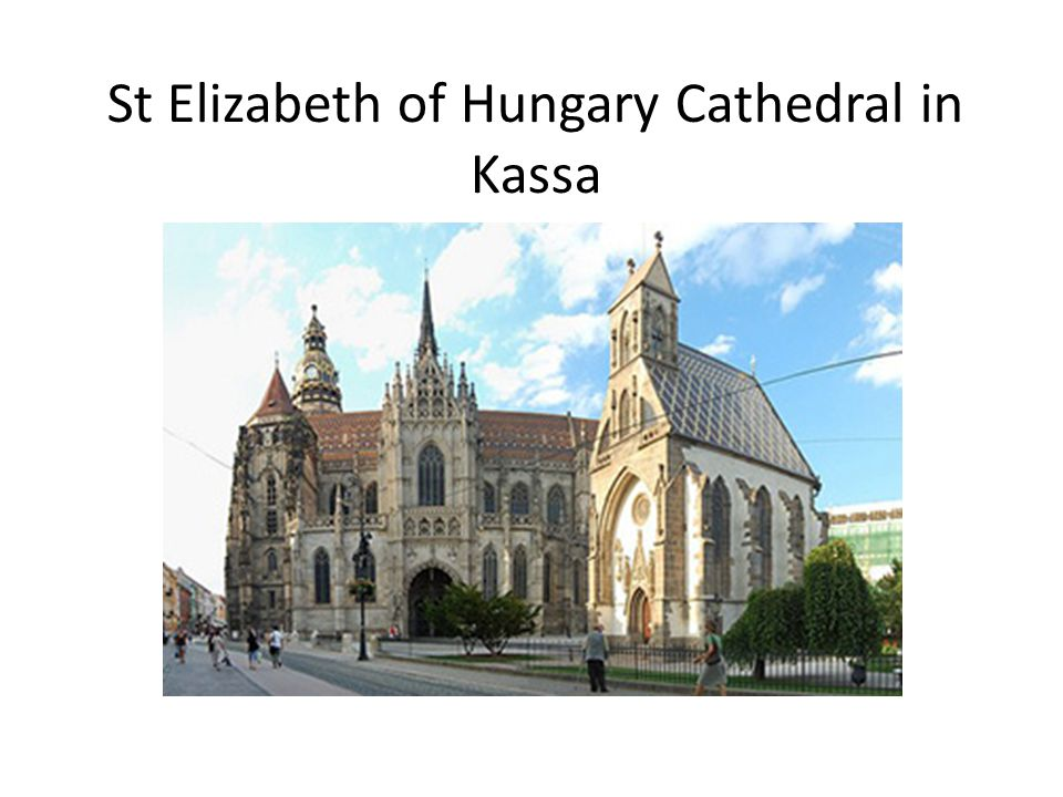 St Elizabeth of Hungary Cathedral in Kassa