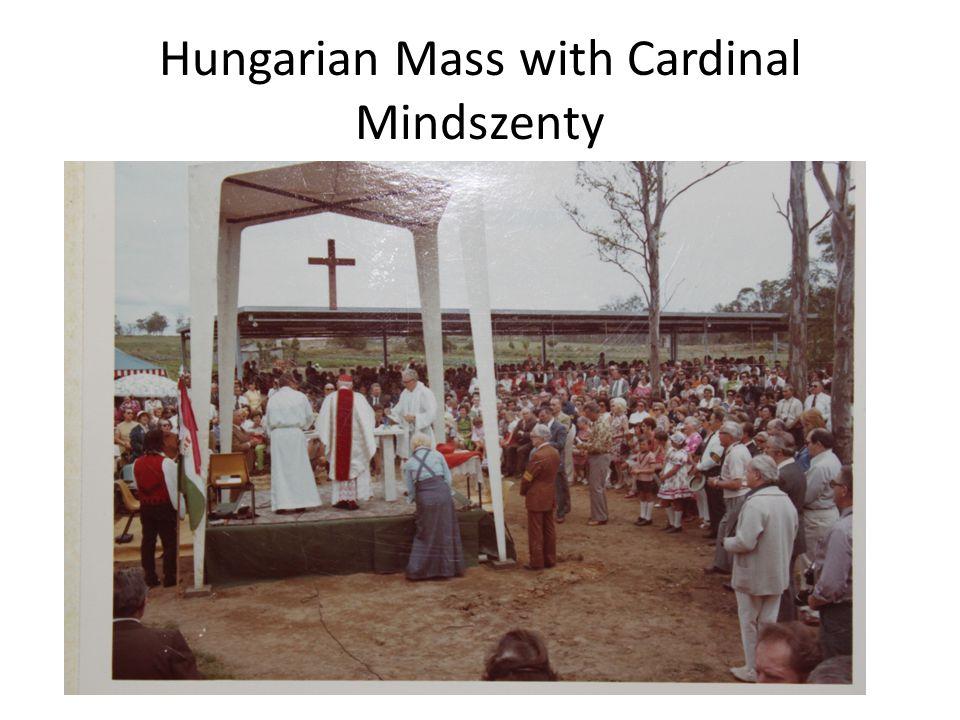 Hungarian Mass with Cardinal Mindszenty
