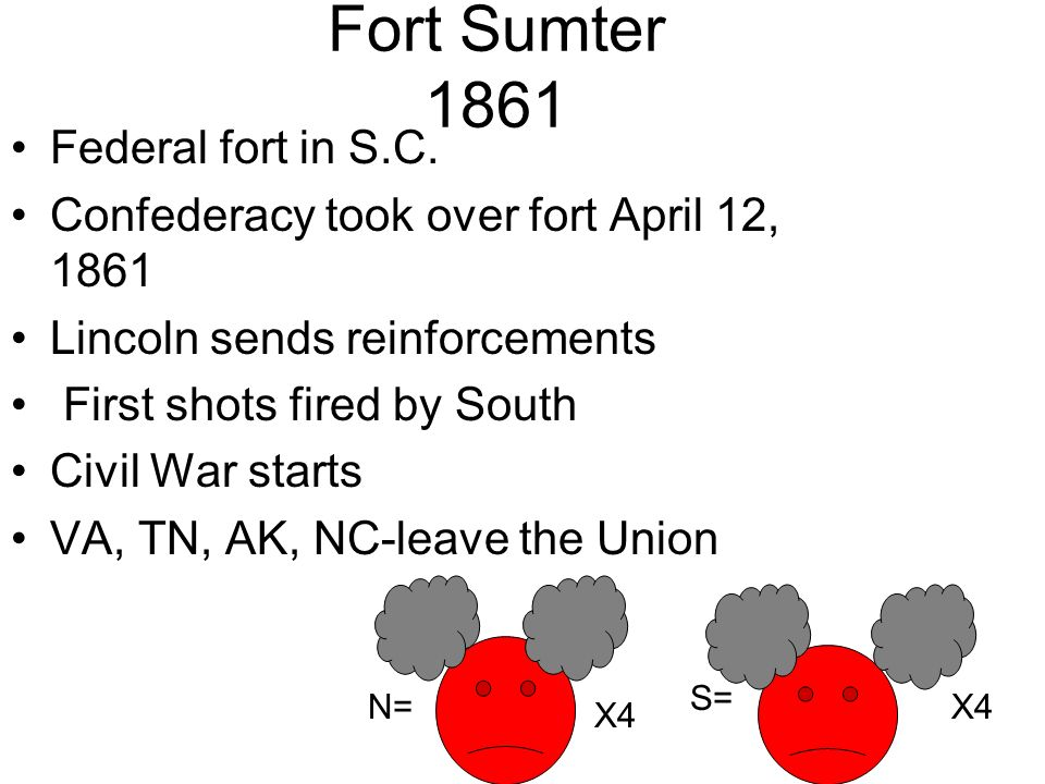 Fort Sumter 1861 Federal fort in S.C.