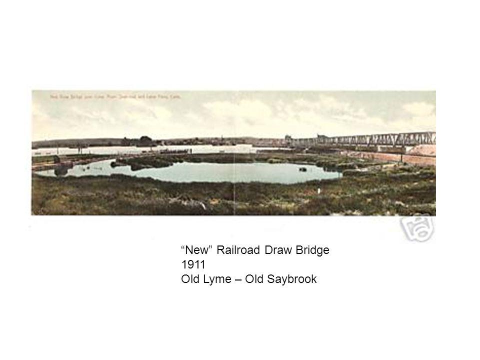 New Railroad Draw Bridge