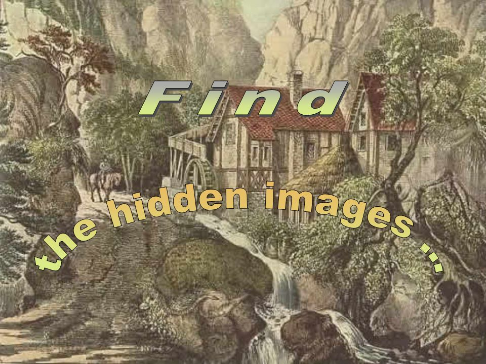 Find the hidden images ...