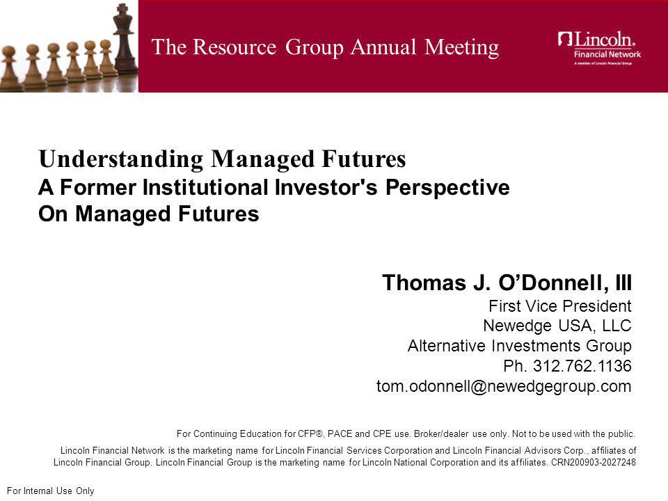 The Resource Group Annual Meeting