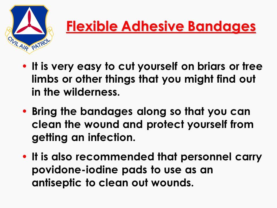 Flexible Adhesive Bandages