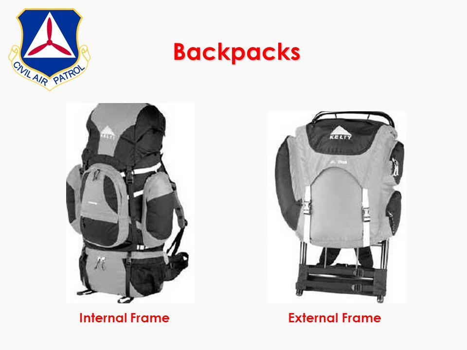 Backpacks Internal Frame External Frame