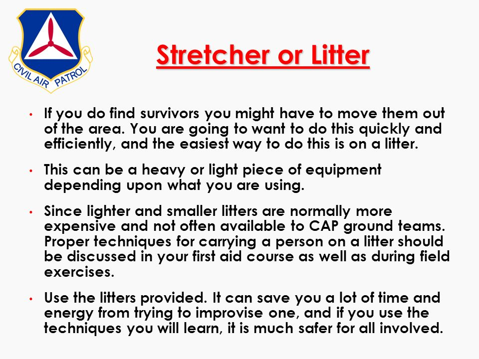 Stretcher or Litter