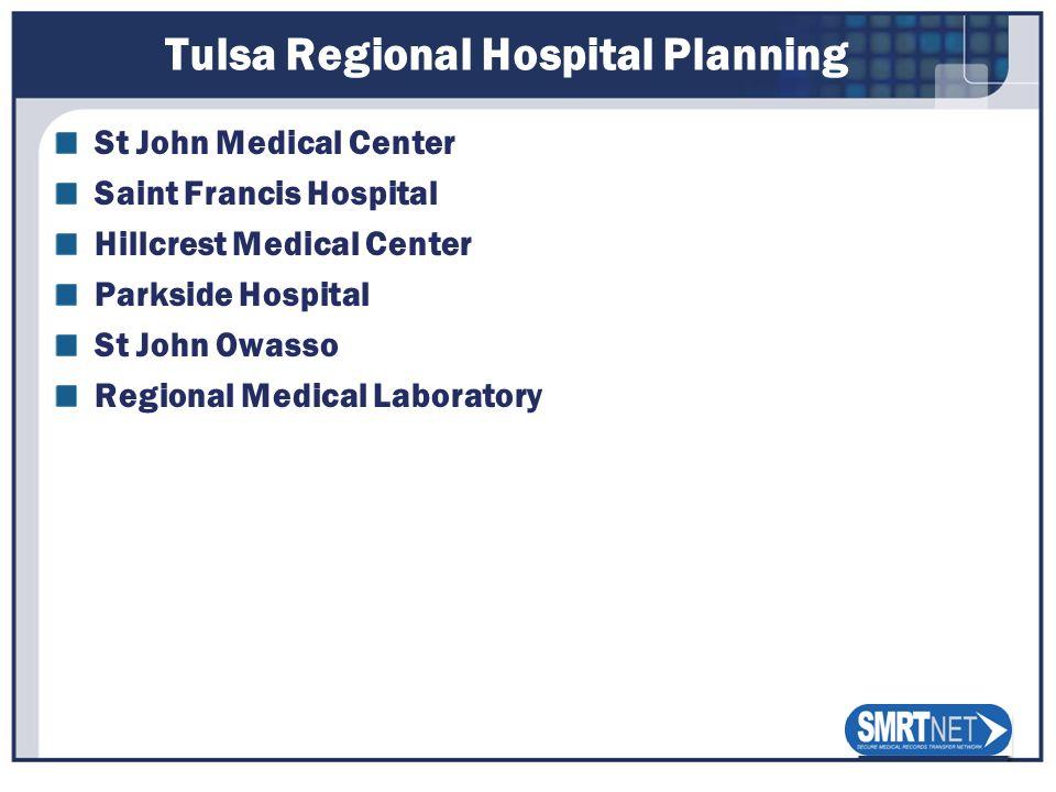 Tulsa Regional Hospital Planning