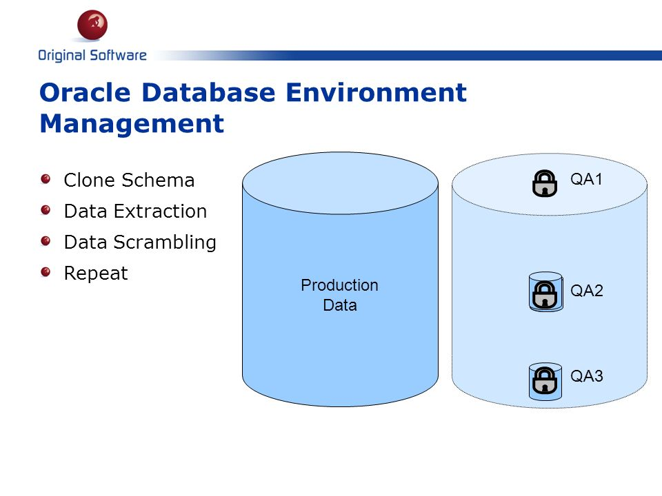 Oracle Database Environment Management