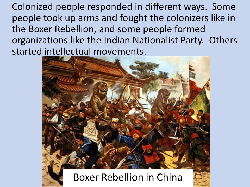 Boxer Rebellion in China