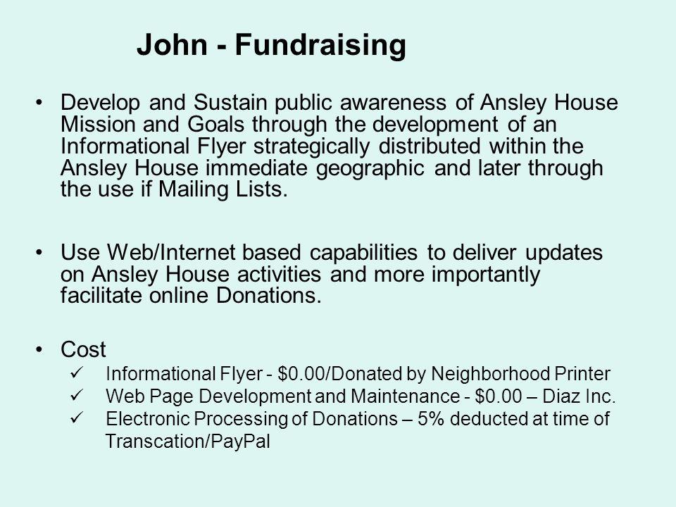 John - Fundraising