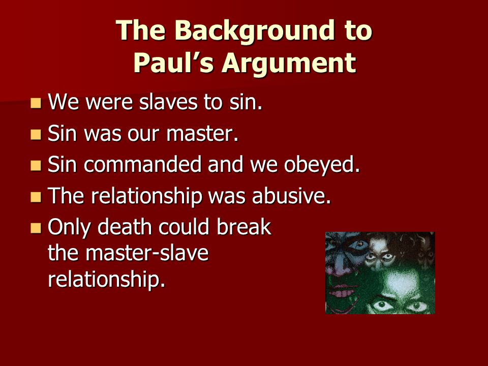 The Background to Paul's Argument