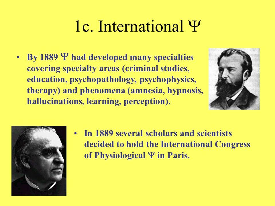 1c. International Y