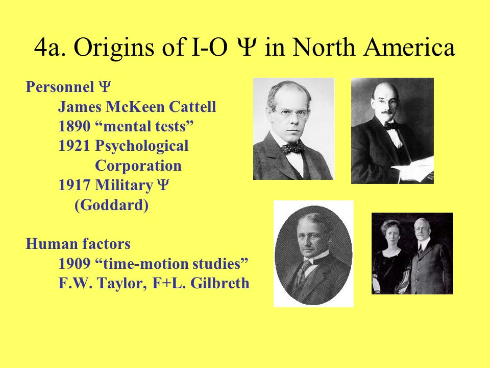 4a. Origins of I-O Y in North America