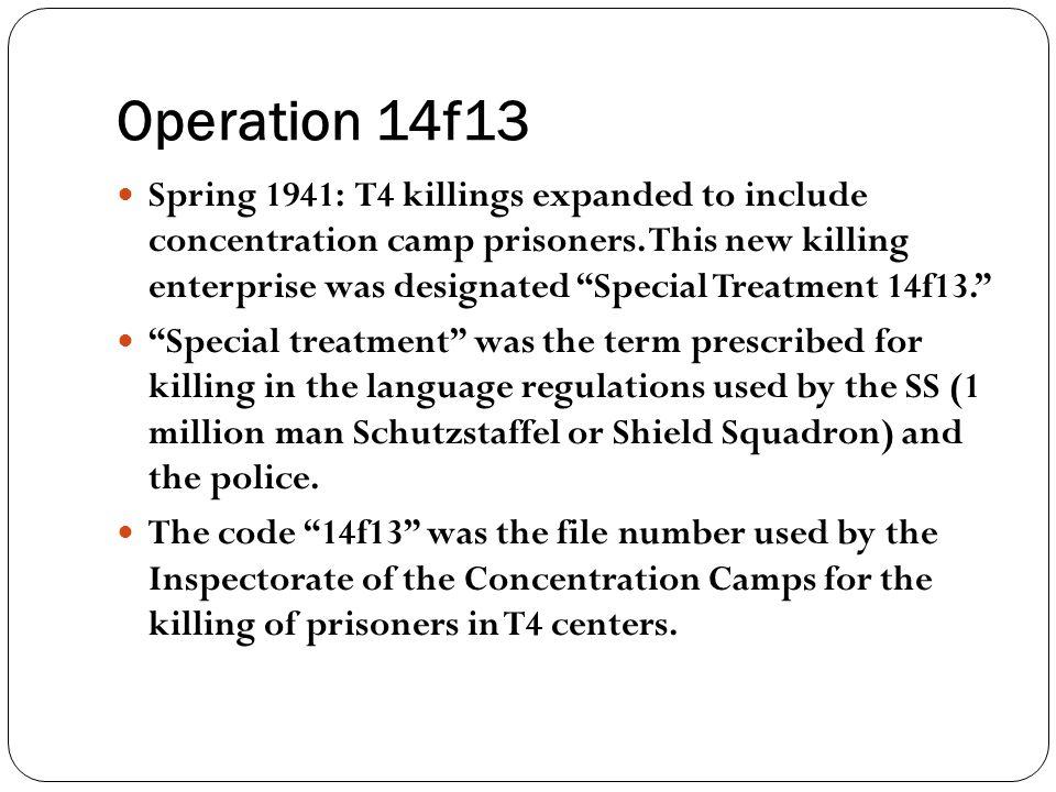 Operation 14f13