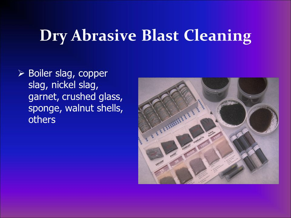 Dry Abrasive Blast Cleaning