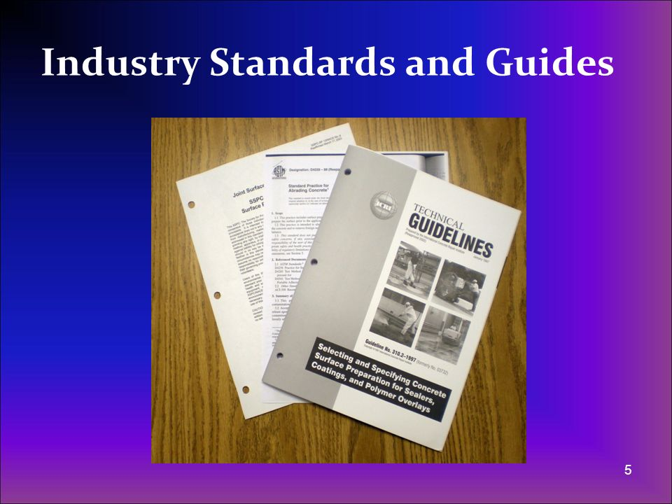 Industry Standards and Guides