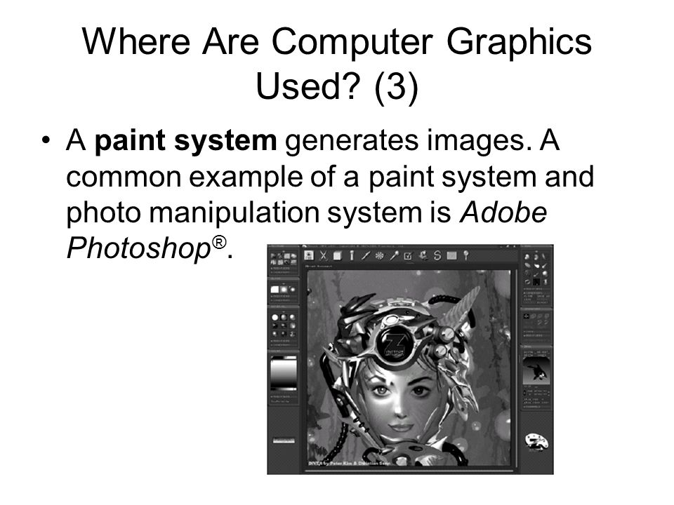 Where Are Computer Graphics Used (3)