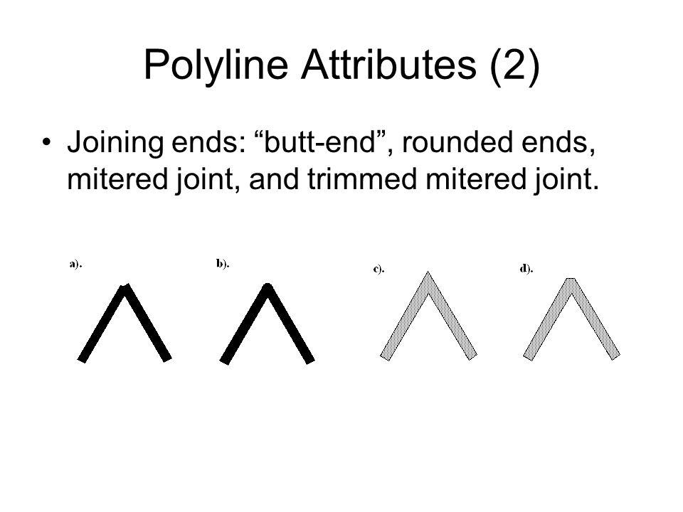 Polyline Attributes (2)
