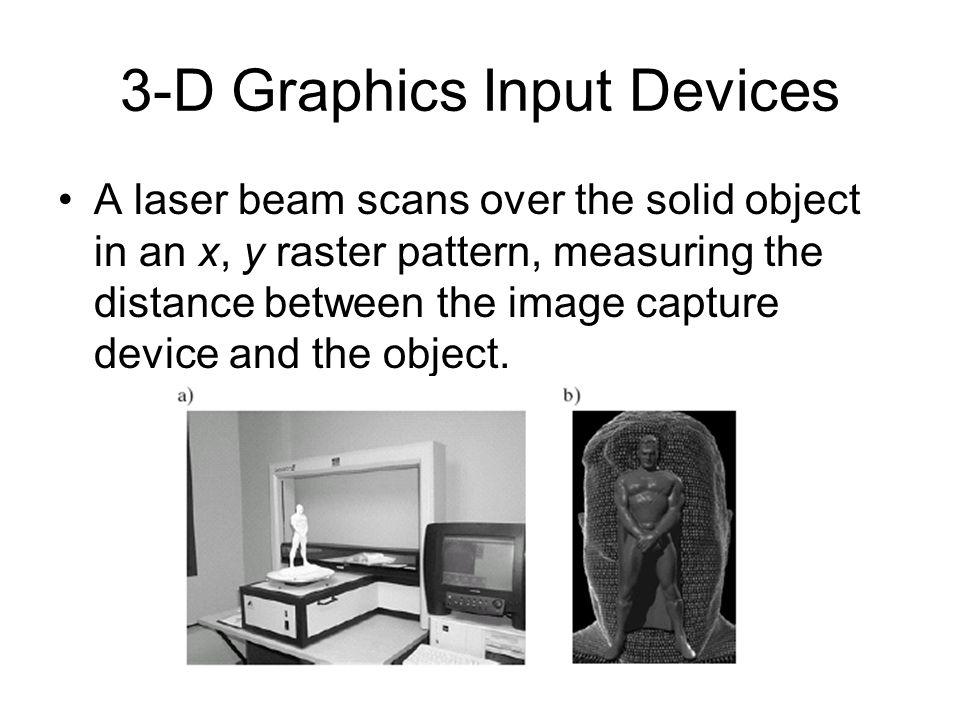 3-D Graphics Input Devices